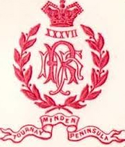 Badge of the 37th Foot