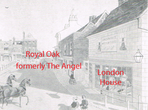 Painting showing London House