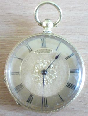 A watch made by the Lofflers
