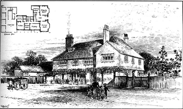Drawing of Norden House