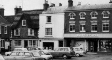 The former Punch House in the 1960s