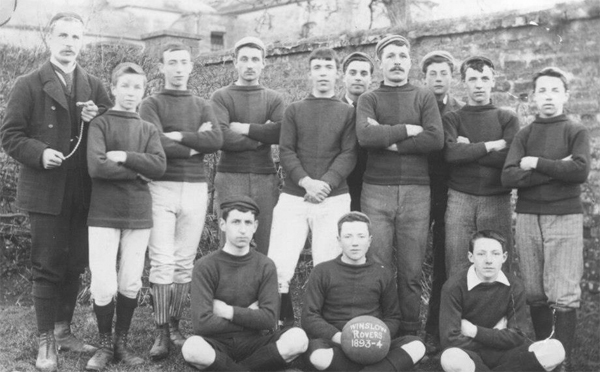Winslow Rovers team 1893-4