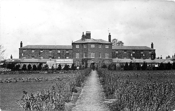 Workhouse and garden