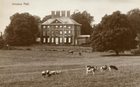 A postcard of Winslow Hall (Winslow History, www.winslow-history.org.uk)