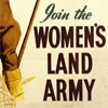 Land Army poster