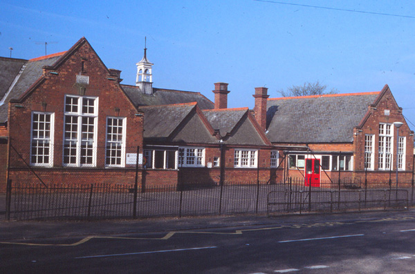 The former primary school in Sheep Street