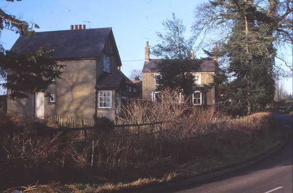 Two cottages standing empty, 1989