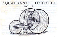 Quadrant tricycle